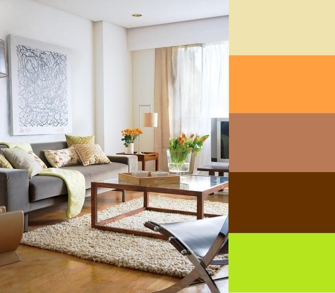 Decoracion casa oto o for Colores calidos para living comedor